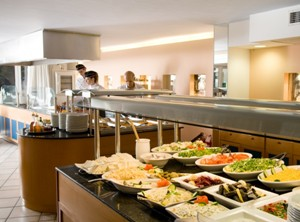 Restaurant Buffet Best Western Plaza Hôtel Rhodes Grèce