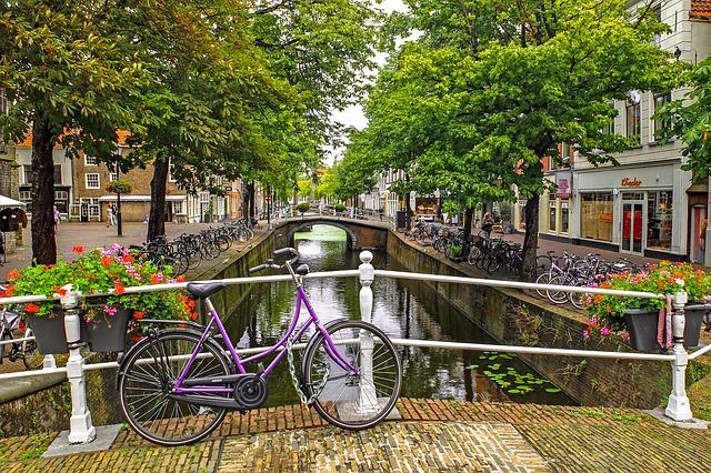 Amsterdam vélos Pays-Bas Europe Voyage