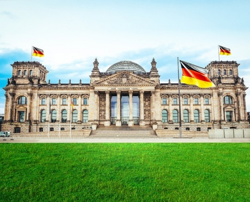 Berlin Bandestung Allemagne Europe Voyage