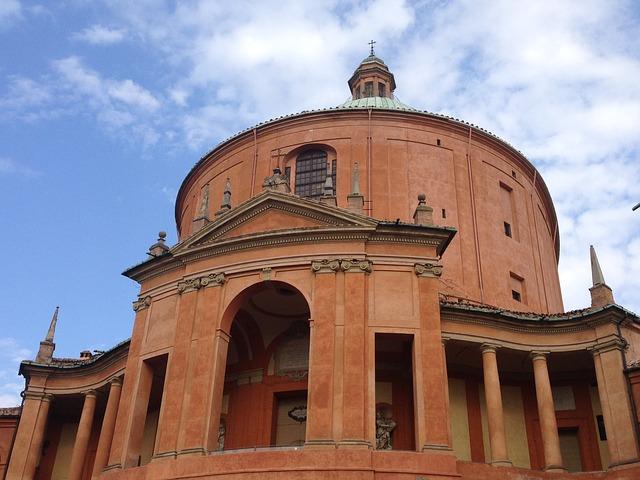 Cathédrale San Luca Bologne Italie Europe Voyage