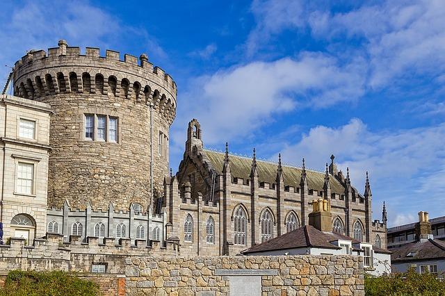 Château de Dublin Irlande Europe Voyage
