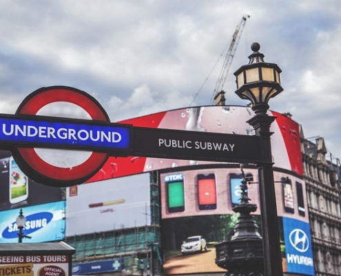 Londres picadilly circus Royaume Unis
