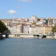 Lyon vue panoramique France Europe Voyage