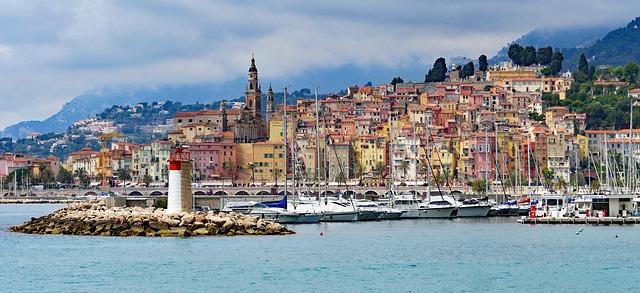 Menton France Europe Voyage