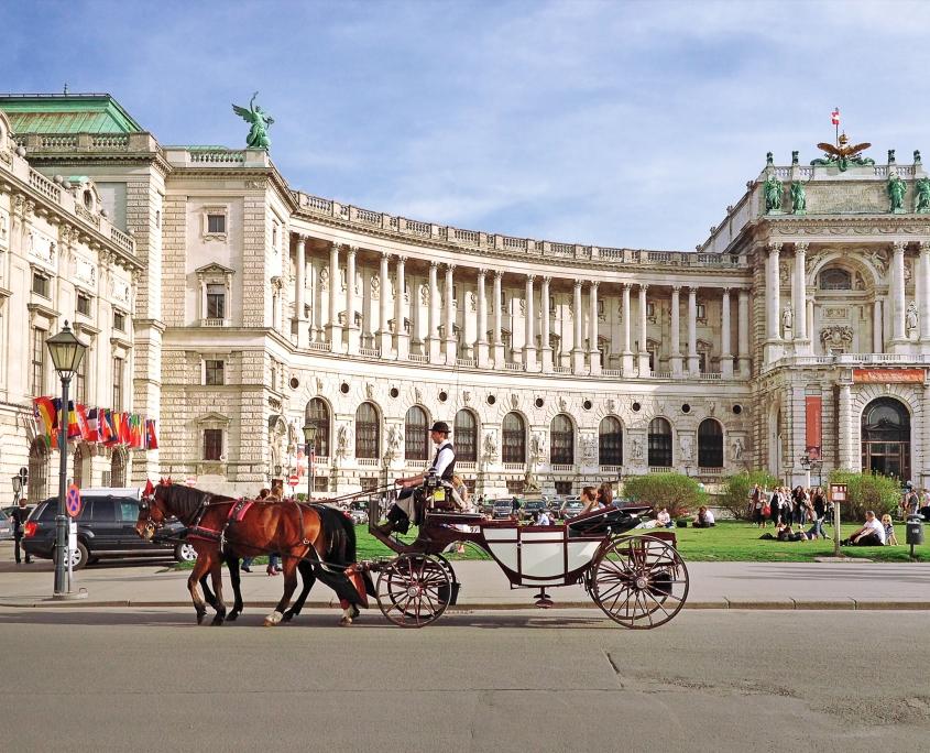 Place Hofburg Vienne Autriche Voyage