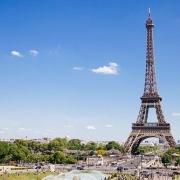Paris vue sur la Tour Eiffel France Europe Voyage