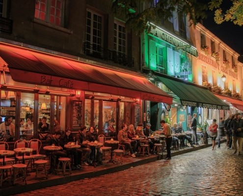 Paris nuit France Europe Voyage