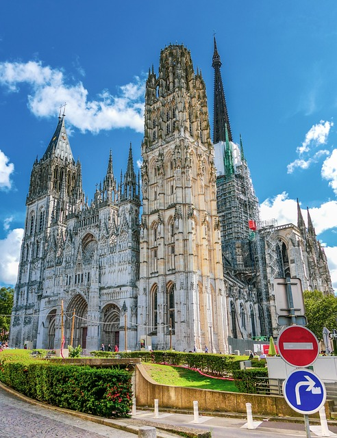 Cathédrale Notre Dame de Rouen Normandie France Europe Voyage