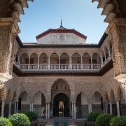 Séville- Alcazar Espagne Europe Voyage