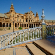 Séville place d'Espagne Europe Voyage