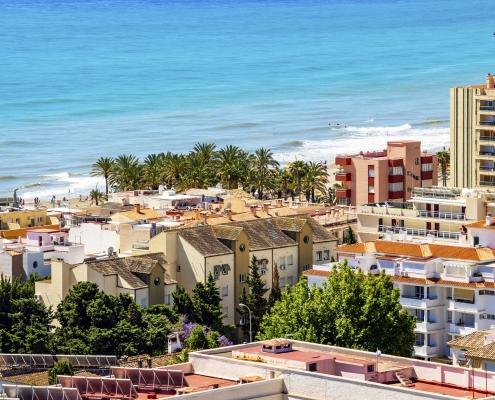 Torremolinos Costa Del Sol Mer Espagne Europe Voyage