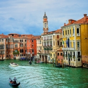 Grand canal Venise Italie Europe Voyage