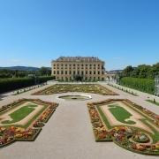 Vienne château Schoenbrunn Autriche Europe Voyage