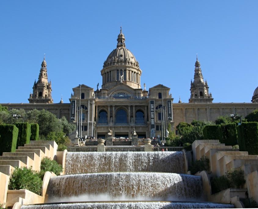 Musée d'Art national de Catalogne Barcelone Espagne Europe Voyage