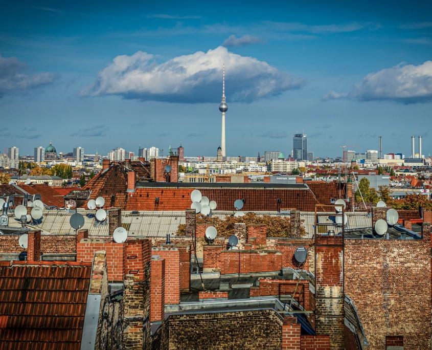 Berlin Fernsehturm Allemagne Europe Voyage