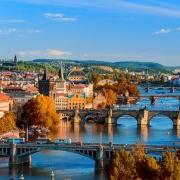 ponts de Prague République Tchèque