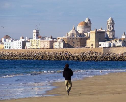 cathédrale Nouvelle Cadix Espagne Europe Voyage