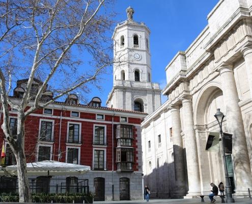 Cathédrale Valladolid Espagne Europe Voyage