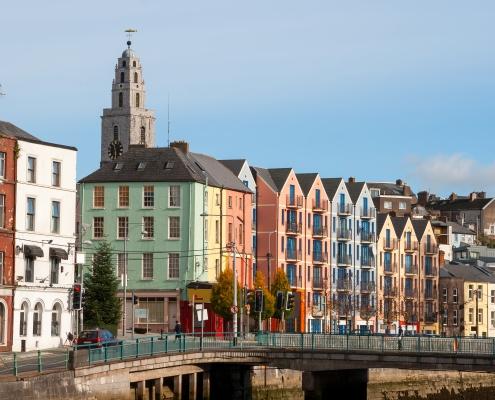 Quaie St Patrick à Cork Irlande Europe Voyage