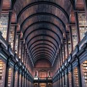 Bibliothèque de Dublin Irlande Europe Voyage