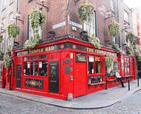 Temple Bar Dublin Irlande Europe Voyage