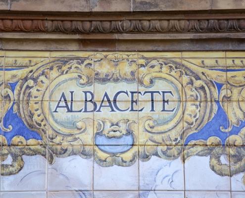 Albacete mosaïque Espagne Europe Voyage