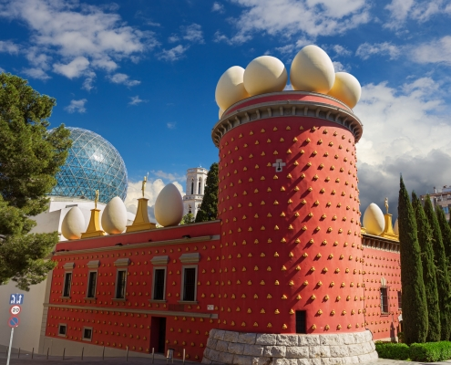 Musée Salvador Dali, Figueres Espagne Europe Voyage
