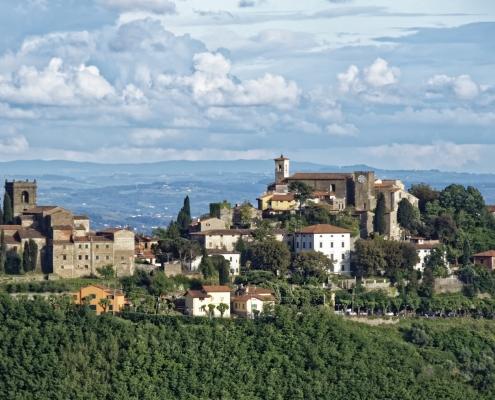 Région Montecatini Italie Europe Voyage