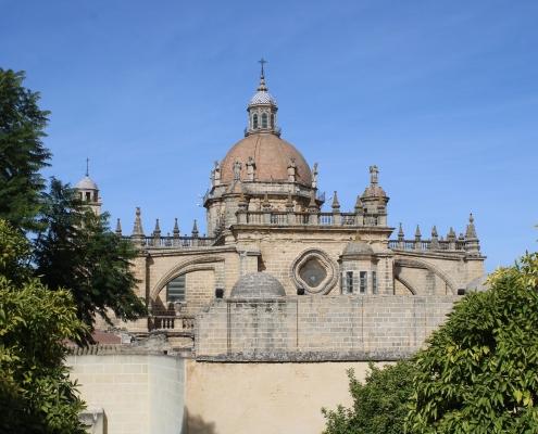 Cathédrale Jerez de la Frontera Espagne Europe Voyage