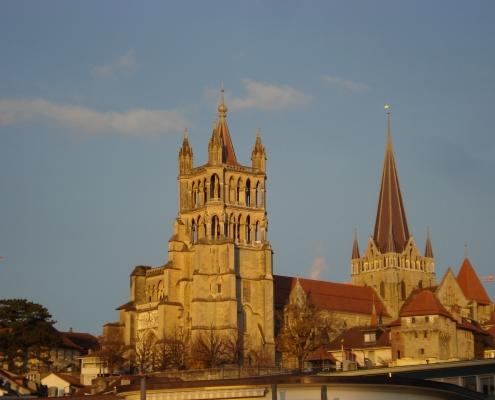 Cathédrale Lausanne Suisse Voyage Europe
