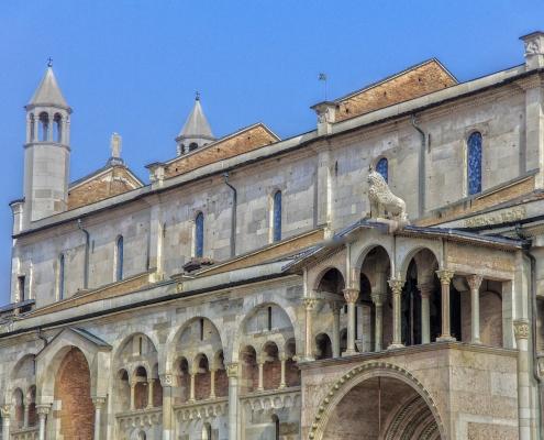 Bâtiment Modène Italie Europe Voyage