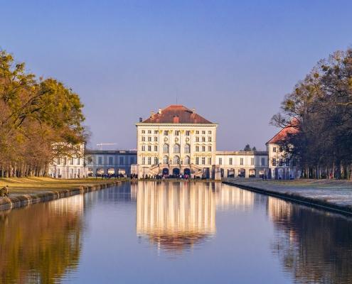 Munich château Allemagne Europe Voyage