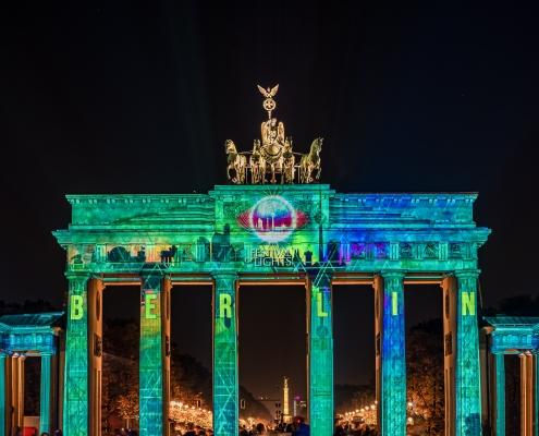 Porte de Brandebourg Berlin Allemagne Europe Voyage