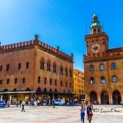 Grande Place centre ville Bologne Italie