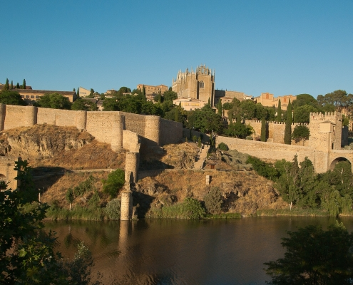 Rempart Tolède Espagne Europe