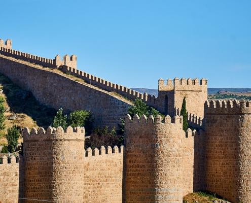 Avila site du patrimoine mondial l'Unesco Espagne Europe Voyage