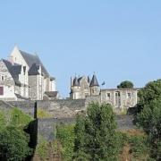 Vue panoramique de Angers France Europe Voyage