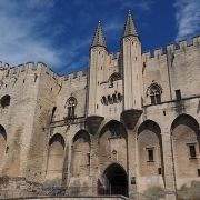 Avignon palais des papes France Europe Voyage