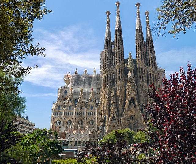 Barcelone Sagrada Familia Espagne Europe Voyage