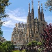 Barcelone Sagrada Familia Espagne Voyage