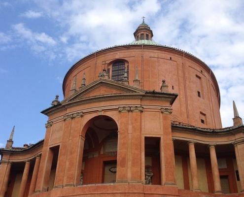 Bologne cathédrale San Luca Italie Voyage