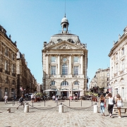 Place de la Bourse Bordeaux France Voyage