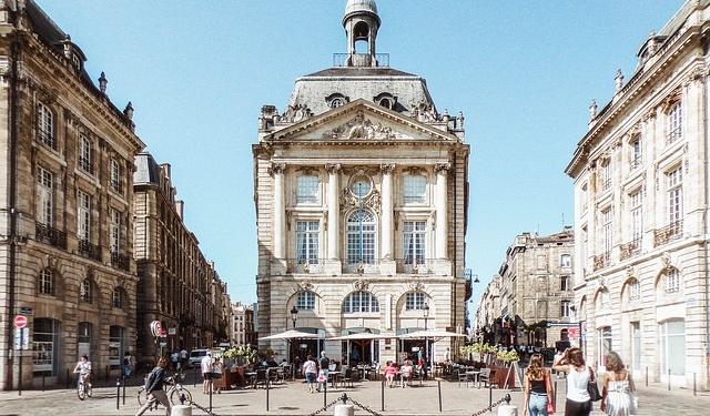 Place de la Bourse, Bordeaux France Europe Voyage