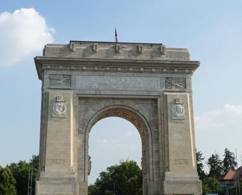 Arc de Bucarest Roumanie Europe Voyage