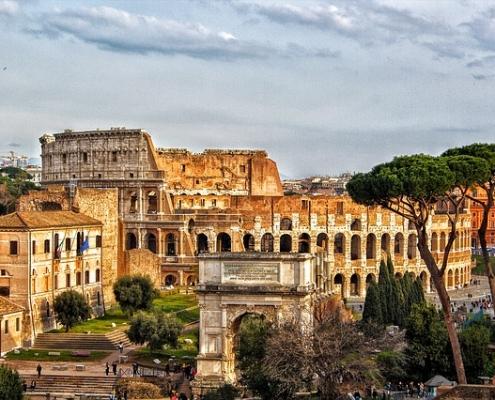Colisée Rome Italie Europe Voyage