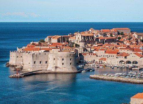 Port de Dubrovnik Croatie Europe Voyage