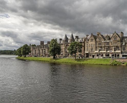 Inverness Écosse Europe Voyage