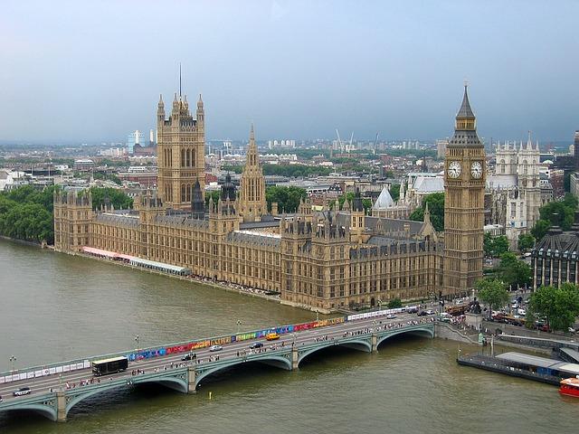 Parlement de Londres Grande Bretagne Europe Voyage