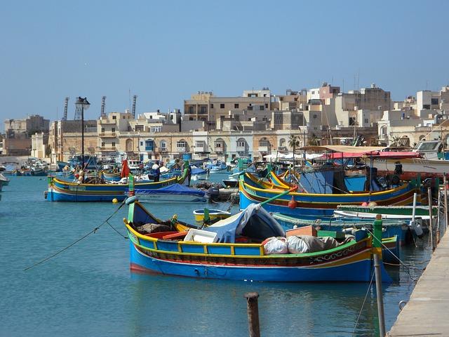 Port de Malte Europe Voyage