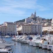 Marseille vieux port France Europe Voyage